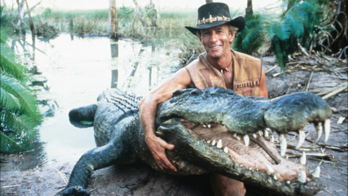 Paul Hogan in Mr. Crocodile Dundee