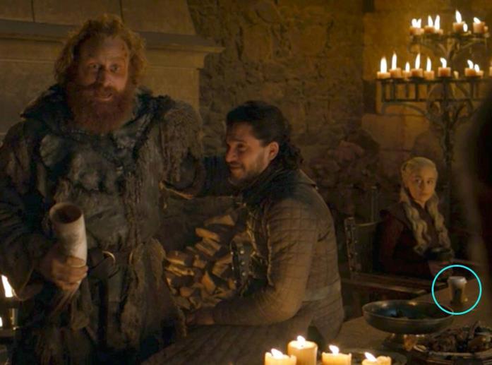 La scena incriminata di Game of Thrones 8x04