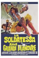 Poster La soldatessa alle grandi manovre