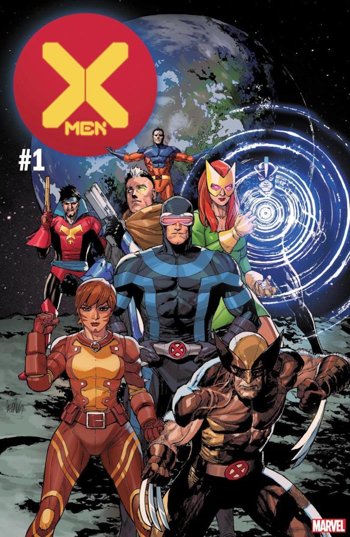 Cover di X-Men #1