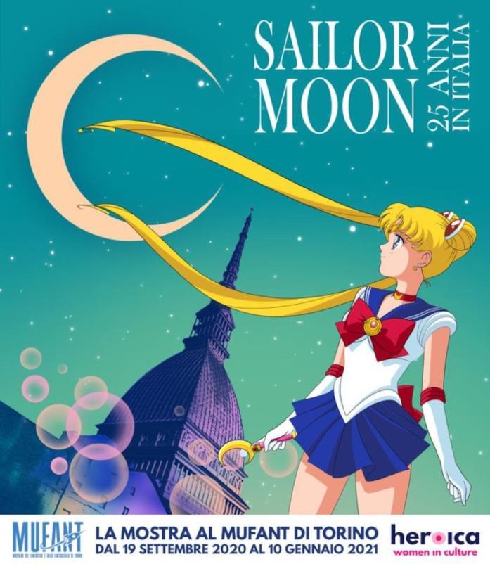 Sailor Moon al Mufant: al via l'evento per i 25 anni del personaggio