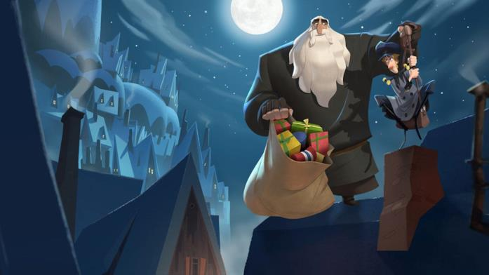 Klaus, i protagonisti del film animato