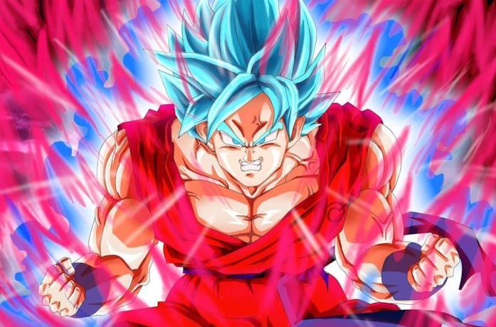 Goku Super Saiyan e Ultra Istinto