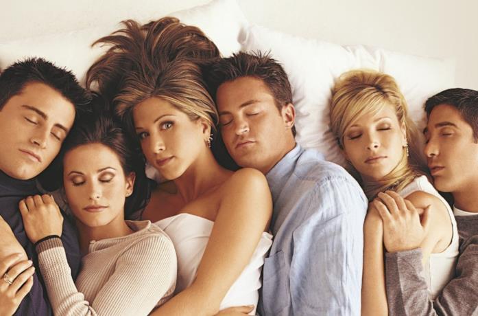 Il cast di Friends