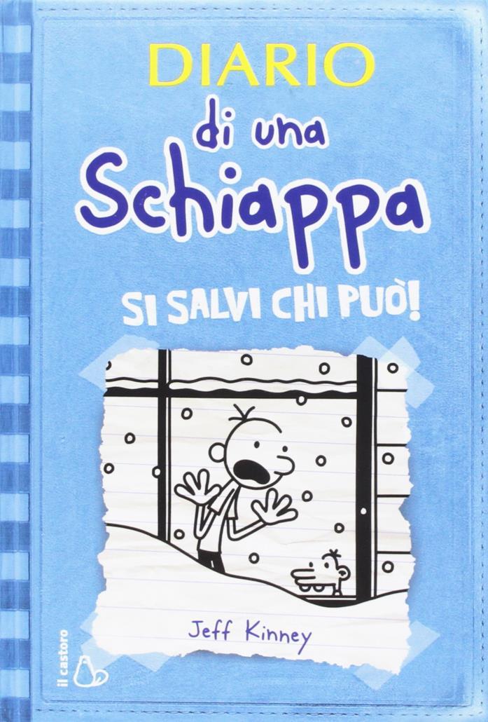 Diario di una schiappa, copertina sesto libro