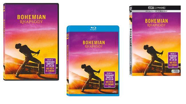 Bohemian Rhapsody - Home Video - DVD e Blu-ray