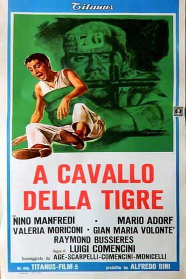 Poster A cavallo della tigre