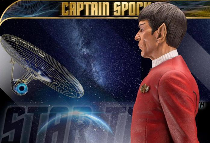 La nuova statua da collezione di Spock