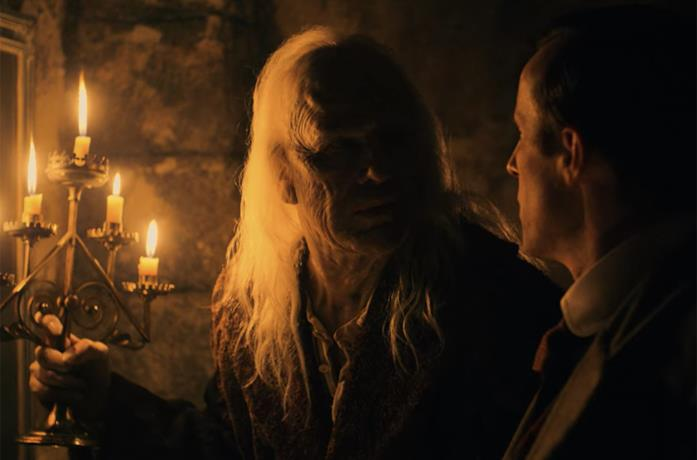 Il Conte Dracula e Jonathan Harker