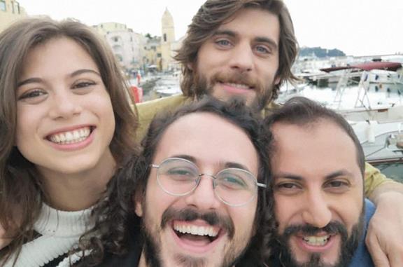 I quattro personaggi principali di questa serie televisiva