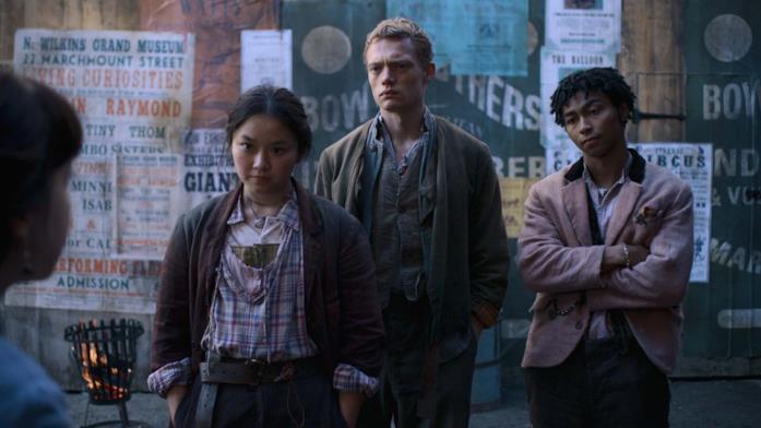 Bea, Billy e Spike ne Gli Irregolari di Baker Street di Netflix