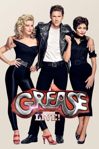 Poster Grease Live!