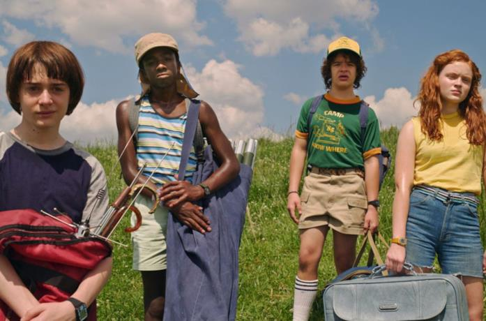Will e compagnia in Stranger Things 3
