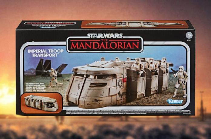 Le truppe imperiali di The Mandalorian hanno il loro veicolo di trasporto giocattolo