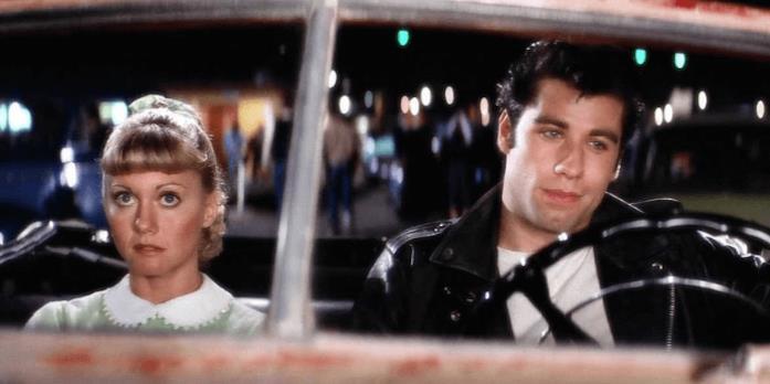 La scena di Grease al Drive-in