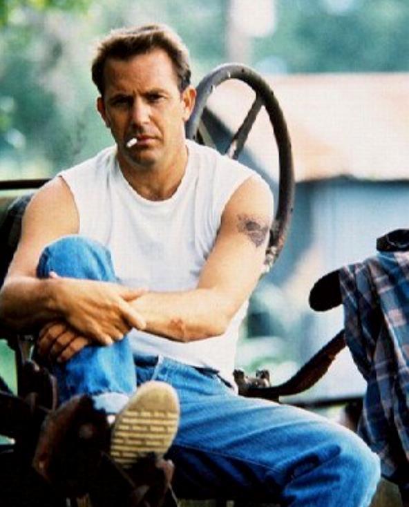 Kevin Costner in una scena di Un mondo perfetto