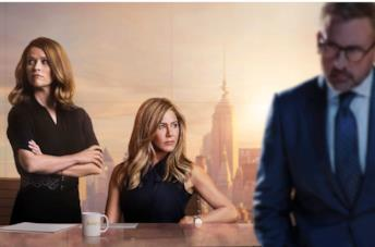 Il cast di The Morning Show: Reese Witherspoon, Jennifer Aniston e Steve Carell