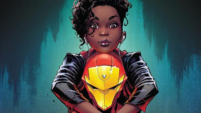 Dettaglio della cover di Ironheart: Riri Williams