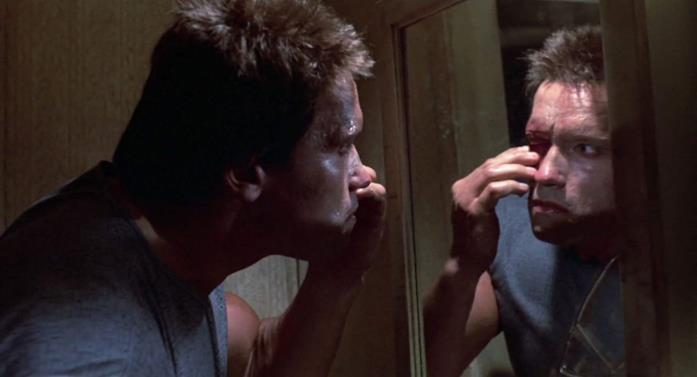 Il Terminator è interpretato da Arnold Schwarzenegger