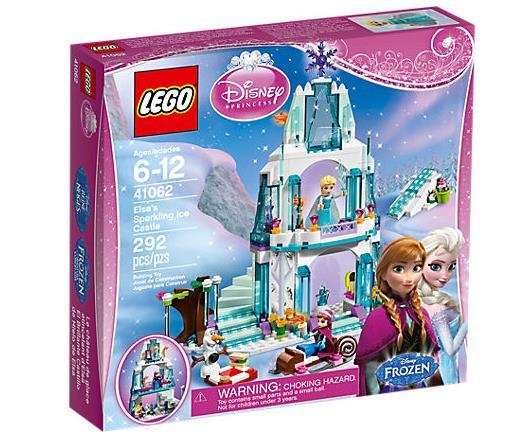 Dettagli del box del set Il castello di ghiaccio di Elsa di LEGO