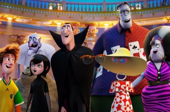 Drac e gli altri personaggi di Hotel Transylvania
