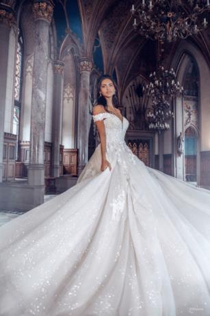 L'abito da sposa ispirato a Belle