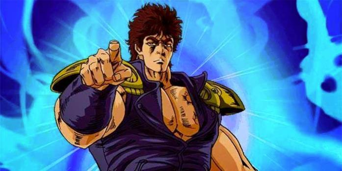 Ken Il Guerriero durante un combattimento