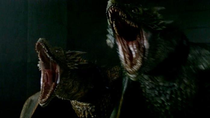 Viserion e Rhaegal, due dei draghi di Daenerys in Game of Thrones
