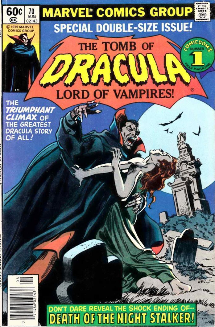 Dracula nei fumetti Marvel