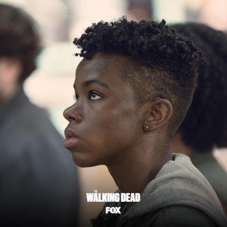 Kelly è la sorella minore di Connie in The Walking Dead