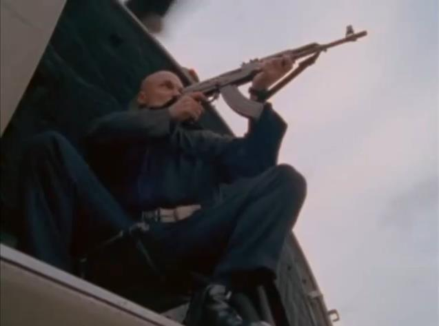 Emil Lavocat in Walker Texas Ranger