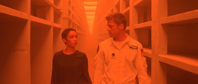 Ruth Negga e Brad Pitt su Marte