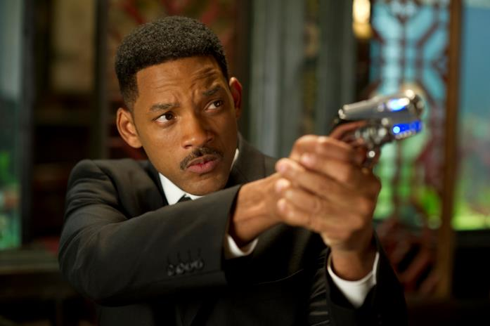 Will Smith in una scena di Men in Black 3