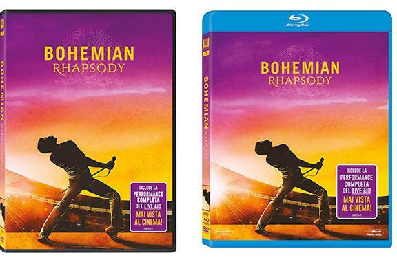 Bohemian Rhapsody in Blu-ray e DVD: la recensione