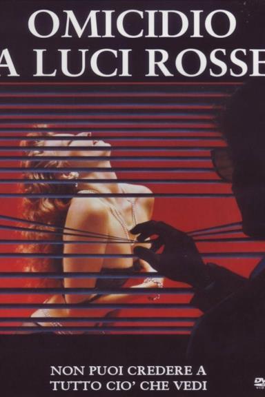Poster Omicidio a luci rosse