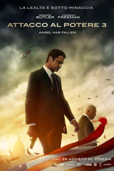 Poster Attacco al potere 3 - Angel Has Fallen