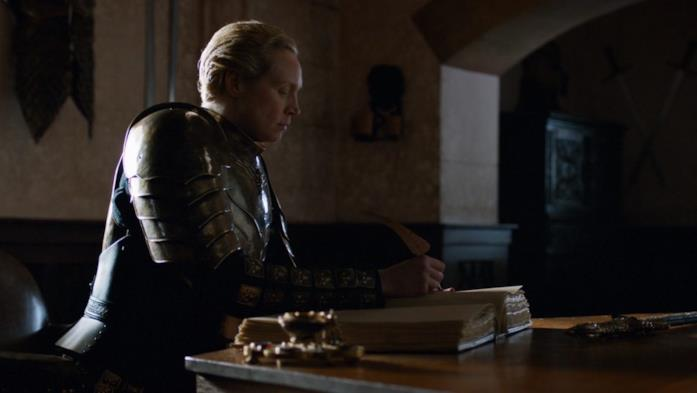 Brienne in Game of Thrones 8x06