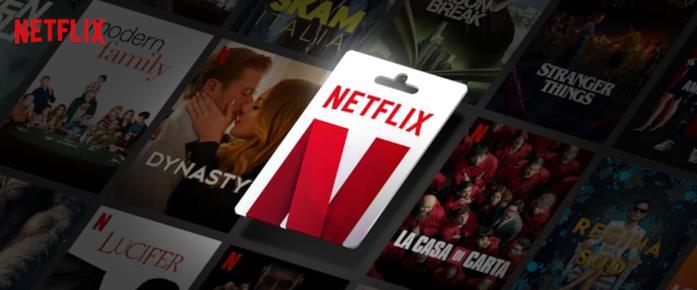 Immagine promozionale della Gift Card Netflix
