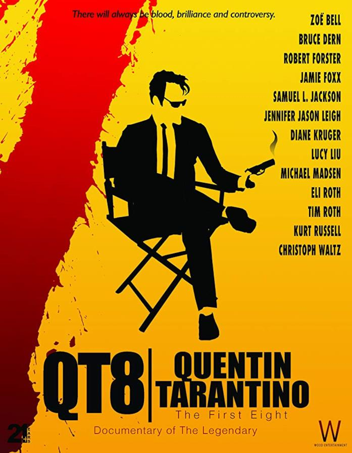 Il poster del film QT8: The First Eight