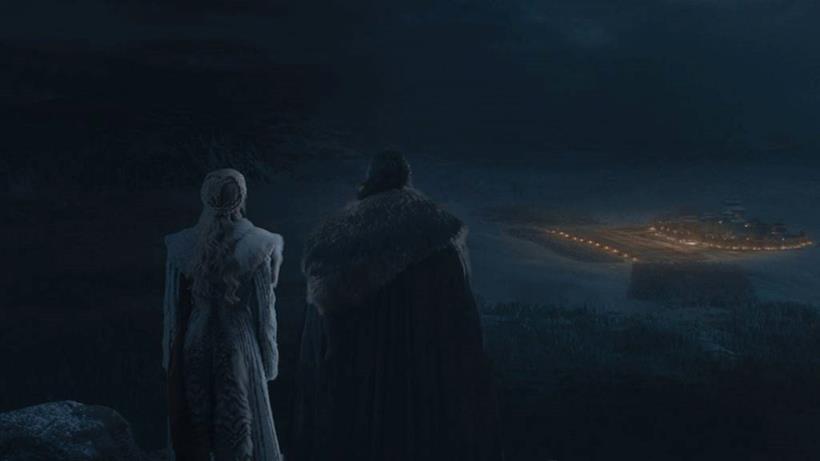 Jon e Daenerys fuori Grande Inverno prima o dopo la battaglia?