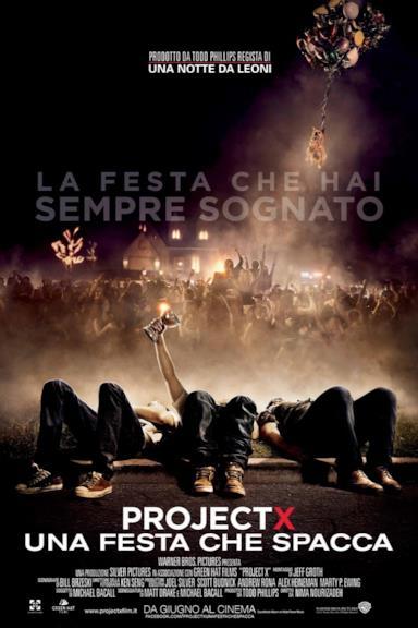 Poster Project X - Una festa che spacca