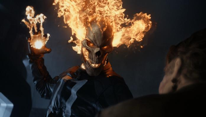Ghost Rider in un episodio di Agents of S.H.I.E.L.D.