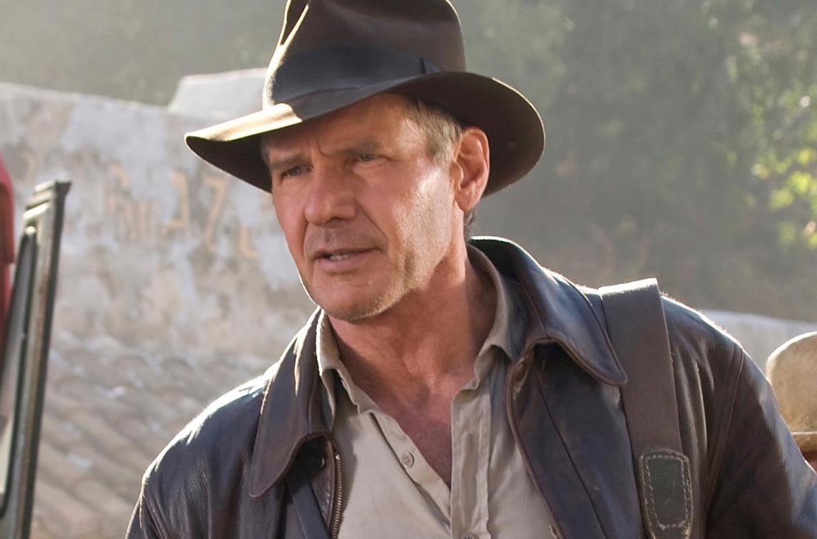 Harrison Ford in una scena di Indiana Jones e il regno del teschio di cristallo