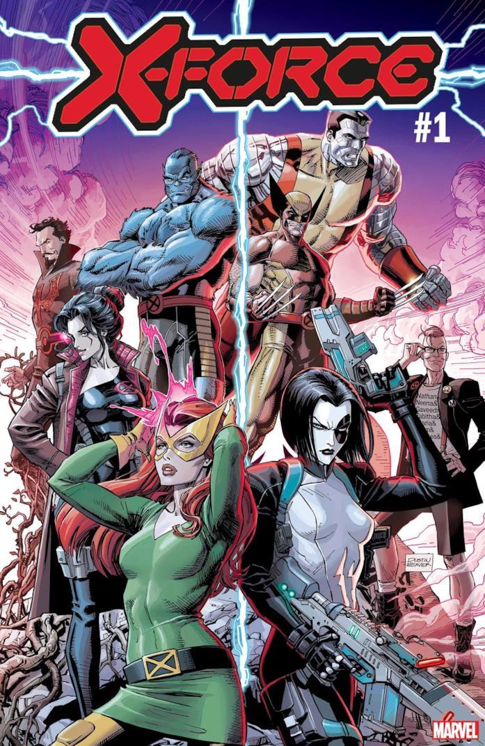 Cover di X-Force #1