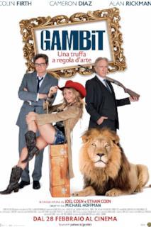 Poster Gambit - Una truffa a regola d'arte