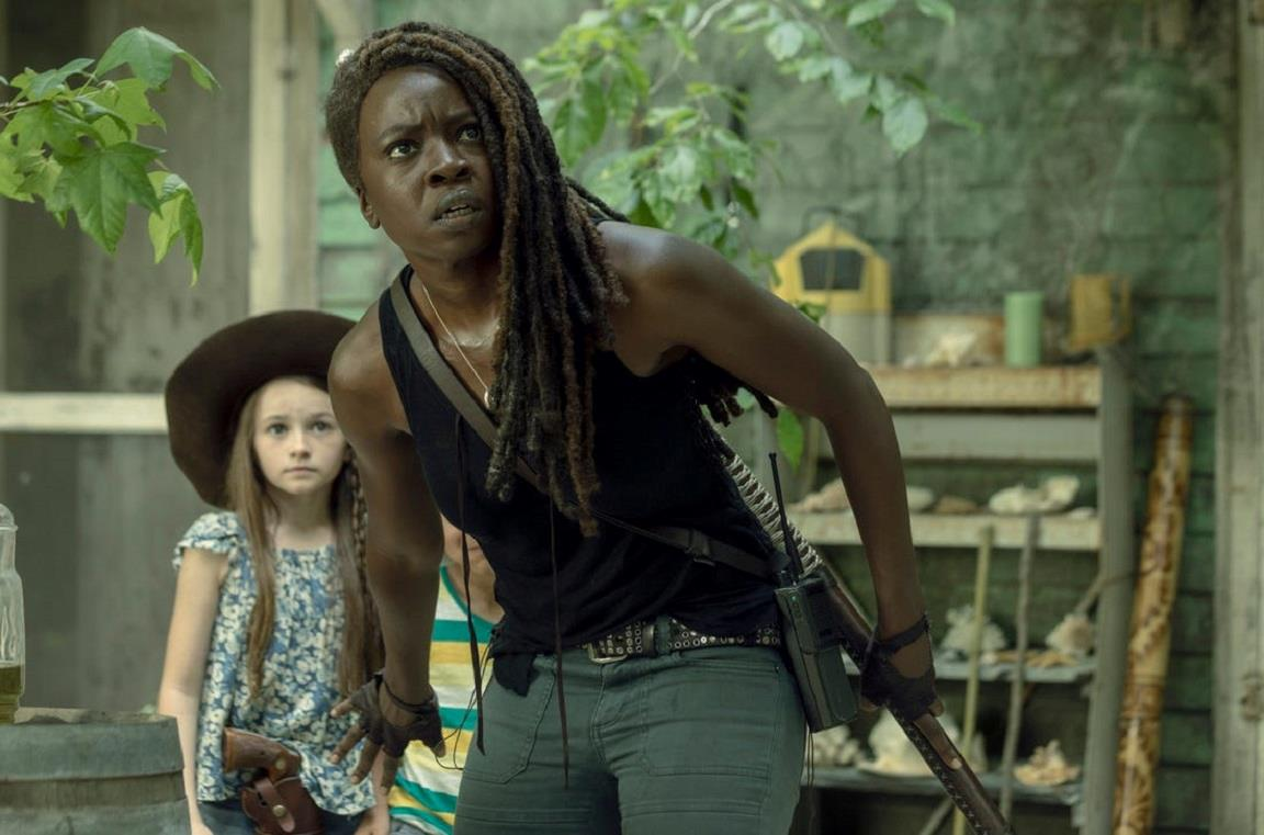 Michonne e Judith nella Stagione 10 di The Walking Dead