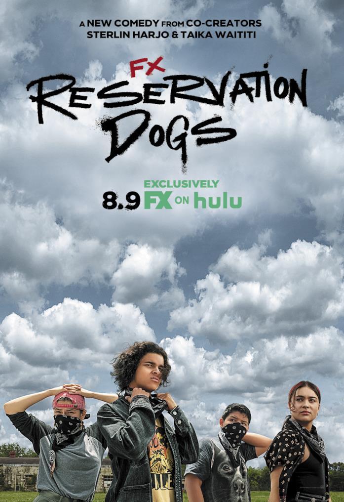 Il poster ufficiale di Reservation Dogs