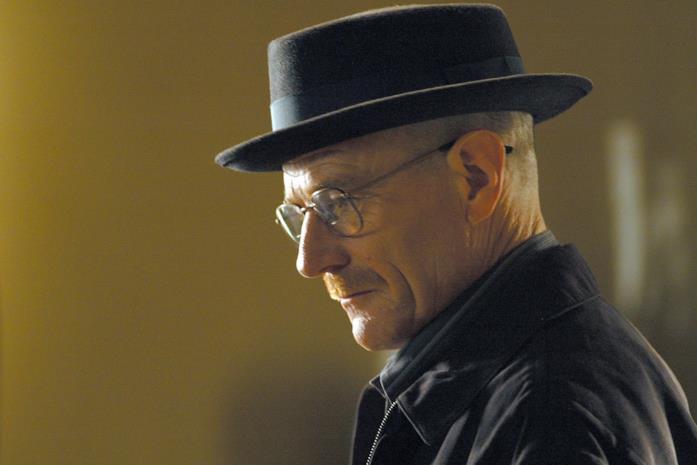 Walter White, il protagonista di Breaking Bad