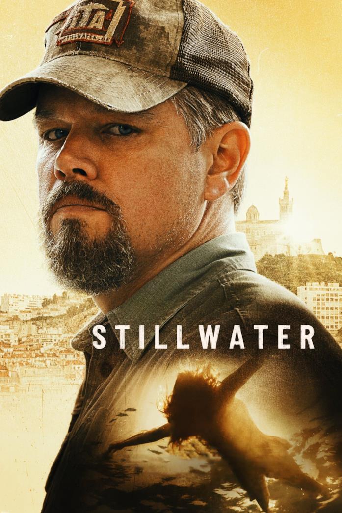 Matt Damon nella locandina di Stillwater
