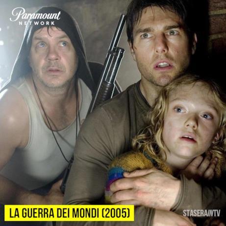 Stasera in Tv alle 21:10 su Paramount Network La guerra dei mondi (2005)